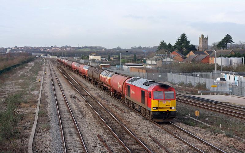 60054, 05.05 Robeston-Westerleigh, Severn Tunnel Junction, 23-1-12.