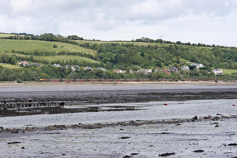 66846, 08.11 Chirk Kronospan-Teigngrace, Teign Estuary, 4-7-12.