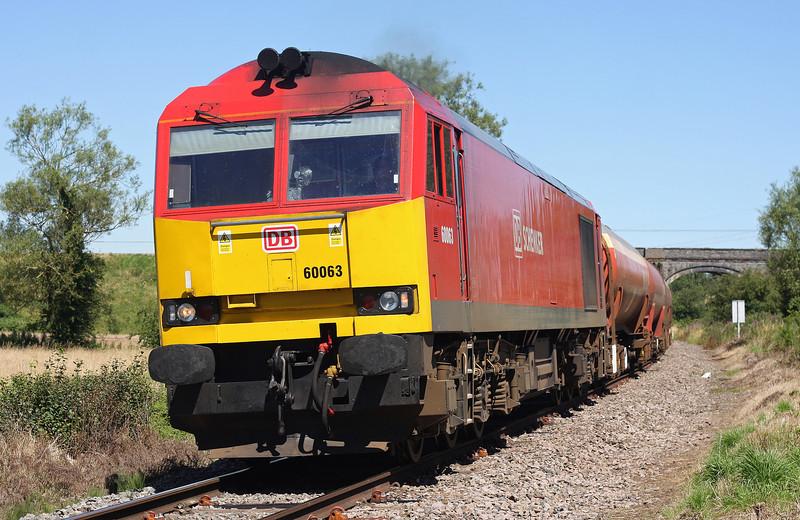 60063, 05.04 Robeston-Westerleigh, Westerleigh, Bristol, 24-7-12.