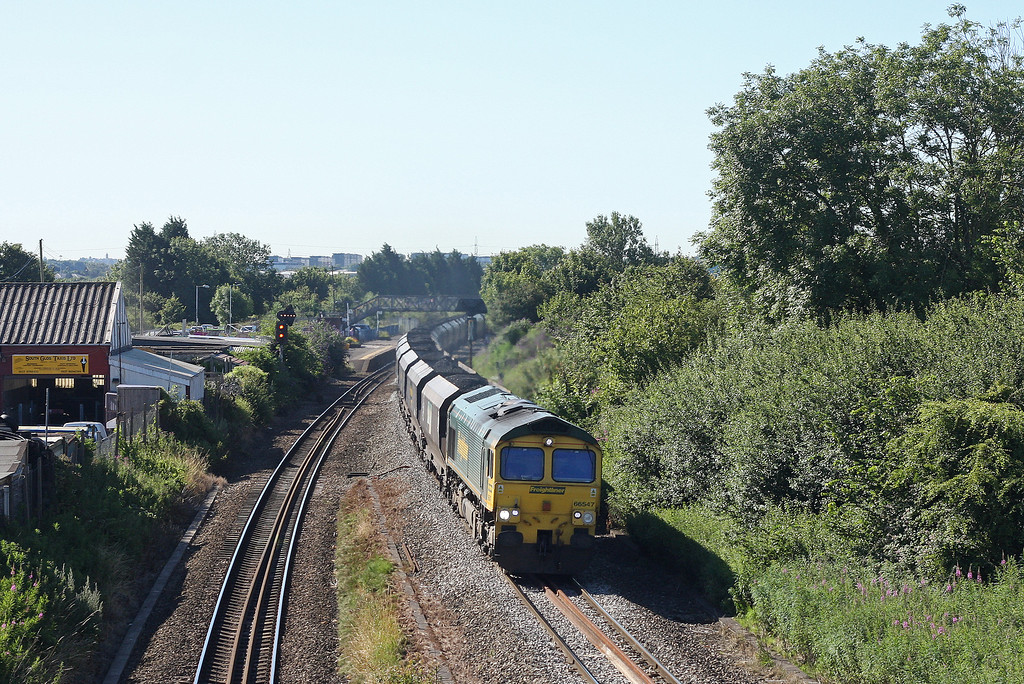 66547, 08.25 Portbury-Fiddler's Ferry Power Station, Patchway, 24-7-12.