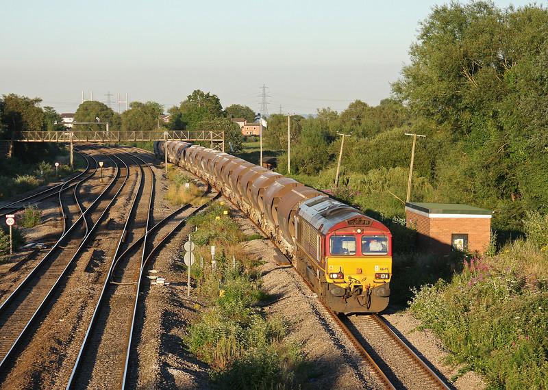 66149, 16.58 Bescot Yard-Newport Alexandra Dock Junction Yard, Magor, 24-7-12.