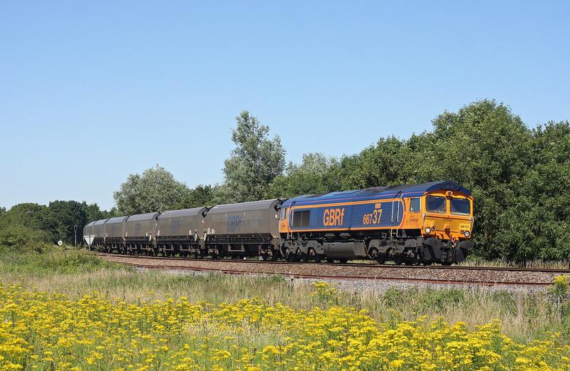 66737, 10.12 Doncaster-Portbury, Yate Common, Gloucestershire, 24-7-12.