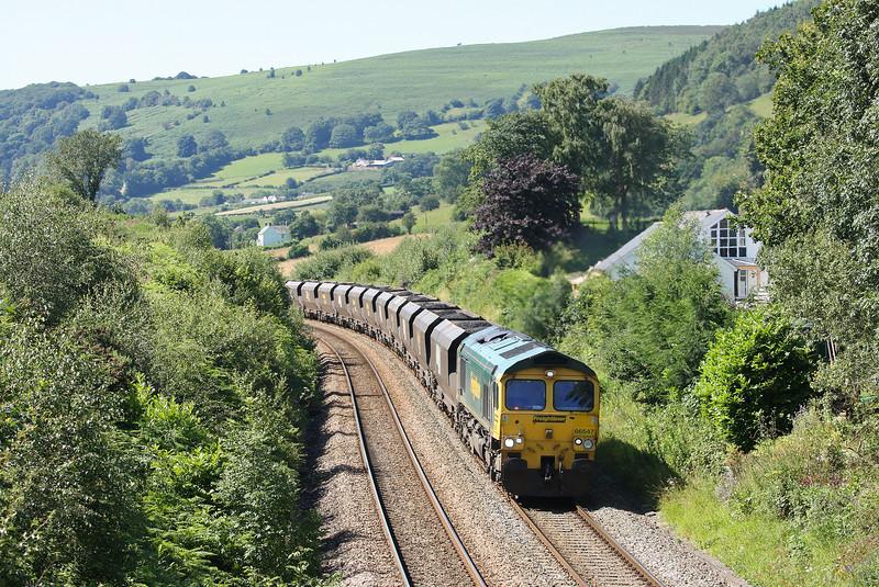 66547, 08.25 Portbury-Fiddlers Ferry Power Station, Llanvihangel Crucorney, near Abergavenny, 23-7-12.