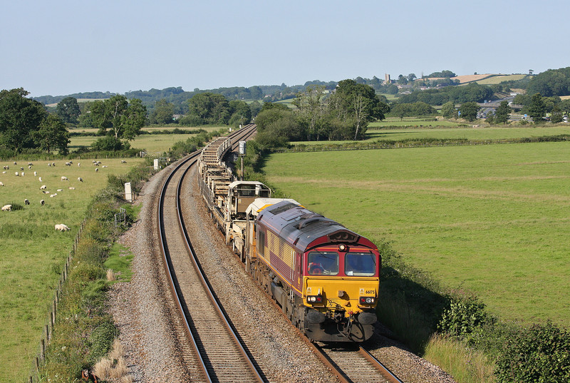 66175, 16.53 Westbury-Long Rock, Tiverton Parkway, 22-7-12.