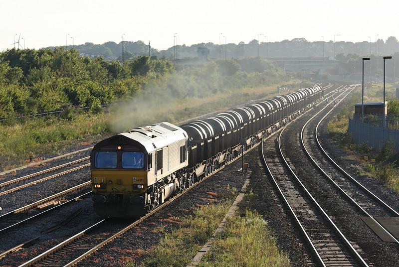 66055, 16.23 Margam-Hartlepool, Severn Tunnel Junction, 24-7-12.