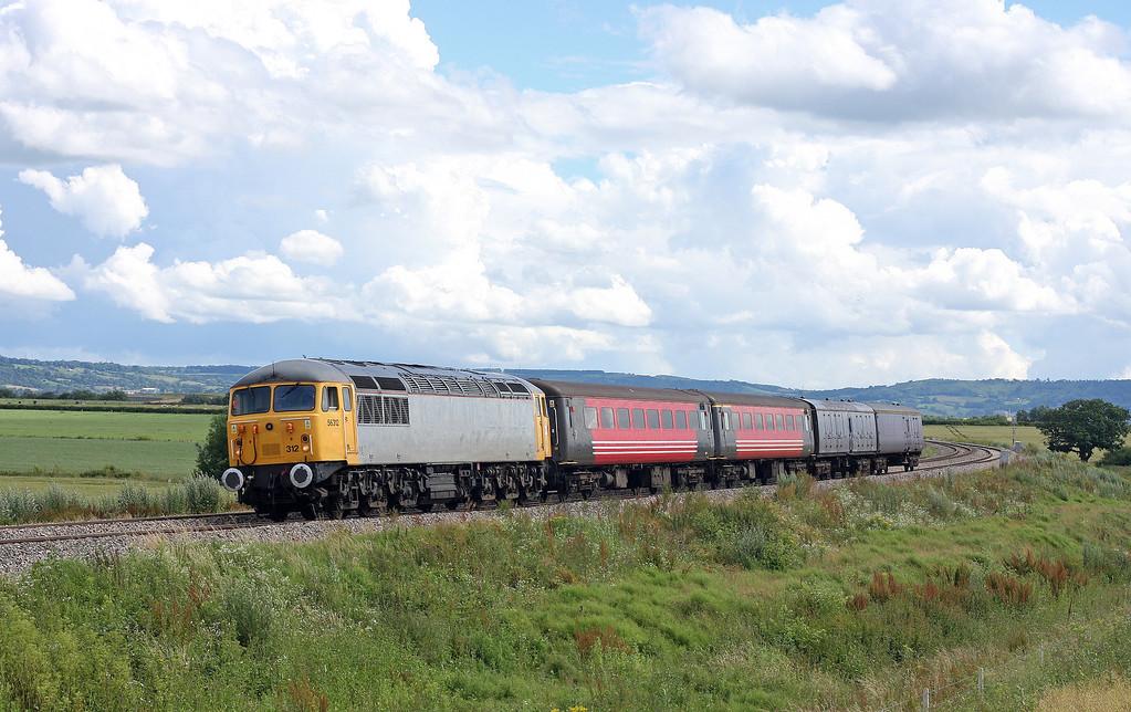 56312, 10.00 Plymouth Laira-Crewe, Tredington, near Tewkesbury, 11-7-12.