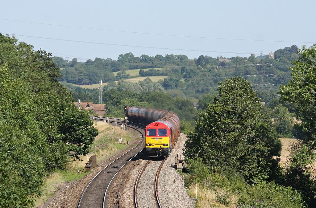 60040, 13.35 Theale-Robeston, Coalpit Heath, near Bristol, 24-7-12.