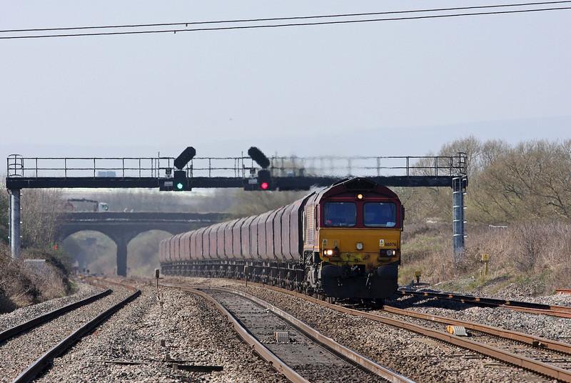 66076, 10.30 Aberthaw Power Station-Avonmouth Bulk Handling Terminal, Pilning, 27-3-12.
