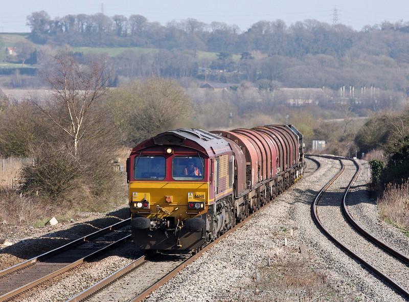 66148, 15.00 Swindon Steel Terminal-Llanwern, Pilning, 27-3-12.