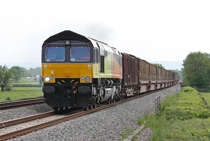 66846, 14.41 Teigngrace-Carlisle, Pugham, near Burlescombe, 31-5-12.