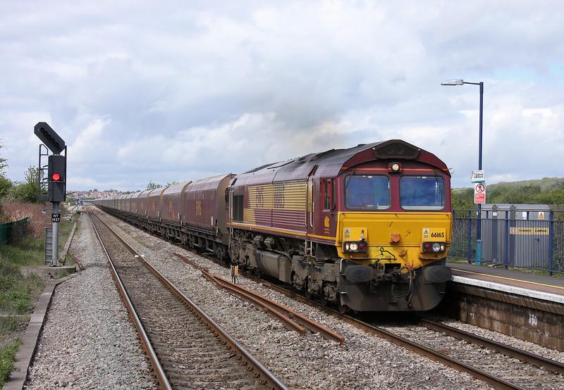 66165, 08.55 Margam-Redcar, Caldicot, 8-5-12.