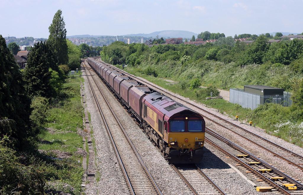 66142, 10.50 Aberthaw Power Station-Avonmouth Bulk Handling Terminal, Llanwern West Junction, 29-5-12.