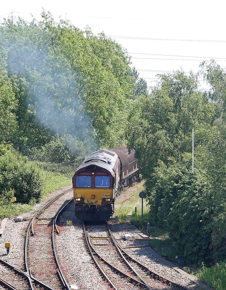 66020, 09.23 Margam-Dee Marsh, Llanwern West Junction, 29-5-12.