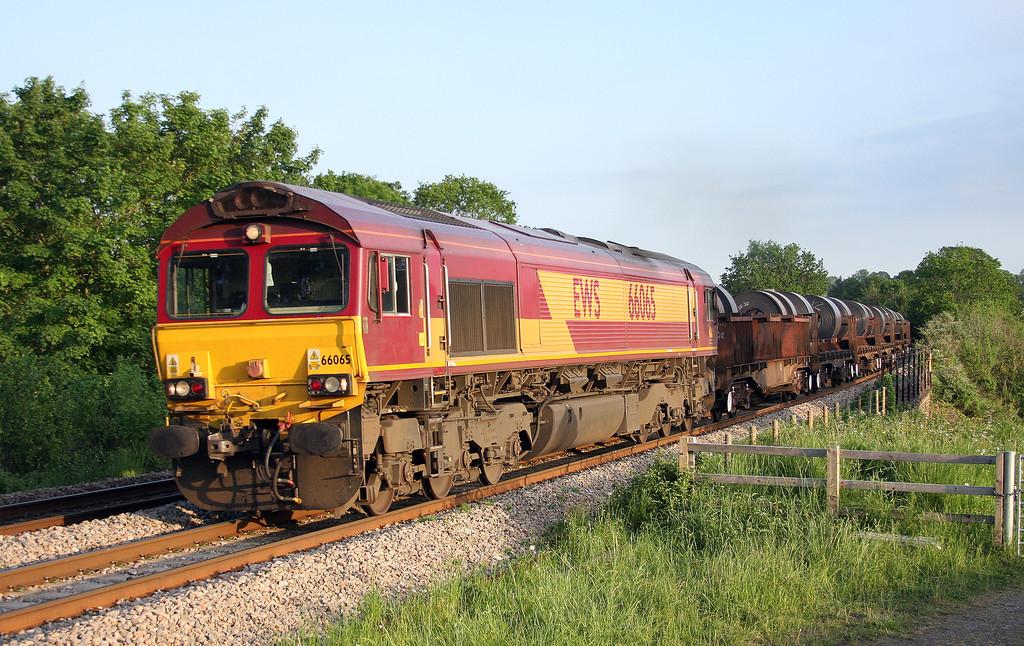 66065, 16.23 Margam-Hartlepool, Bullo Pill, near Newnham, Gloucestershire, 29-5-12.