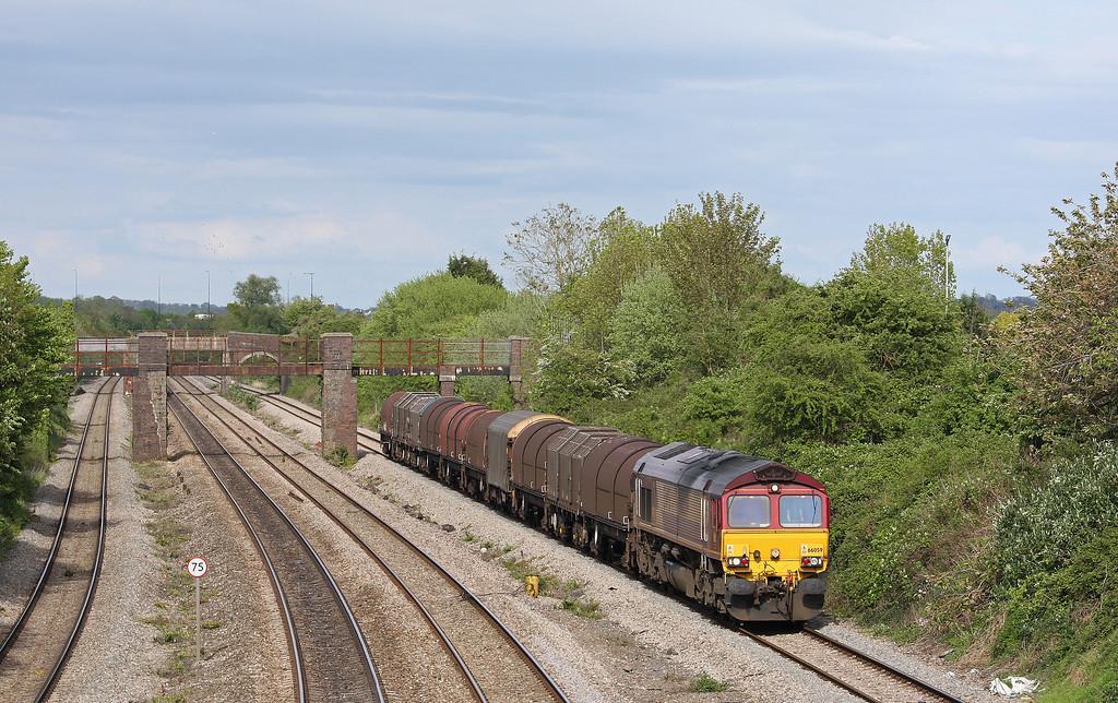 66059, 15.00 Swindon Steel Terminal-Llanwern, Undy, 8-5-12.