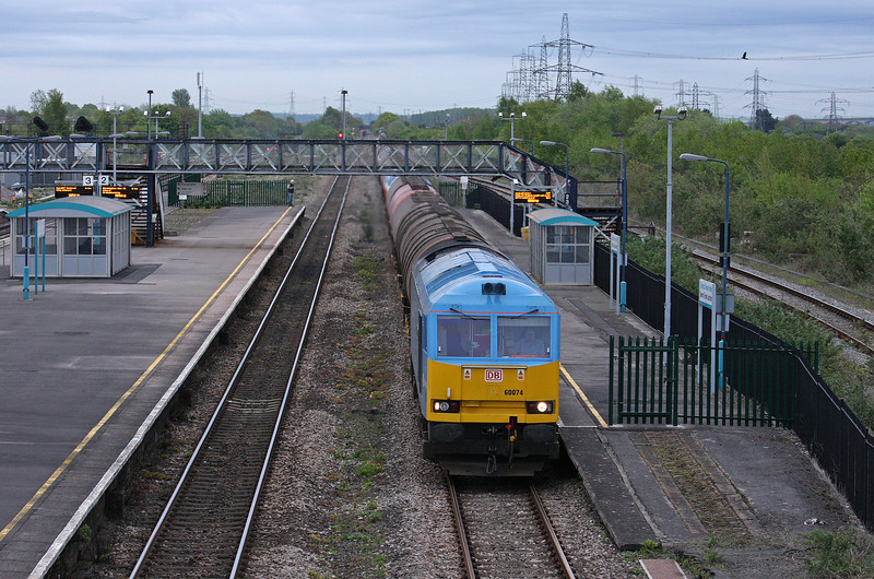 60074, 18.20 Westerleigh-Robeston, Severn Tunnel Junction, 8-5-12.