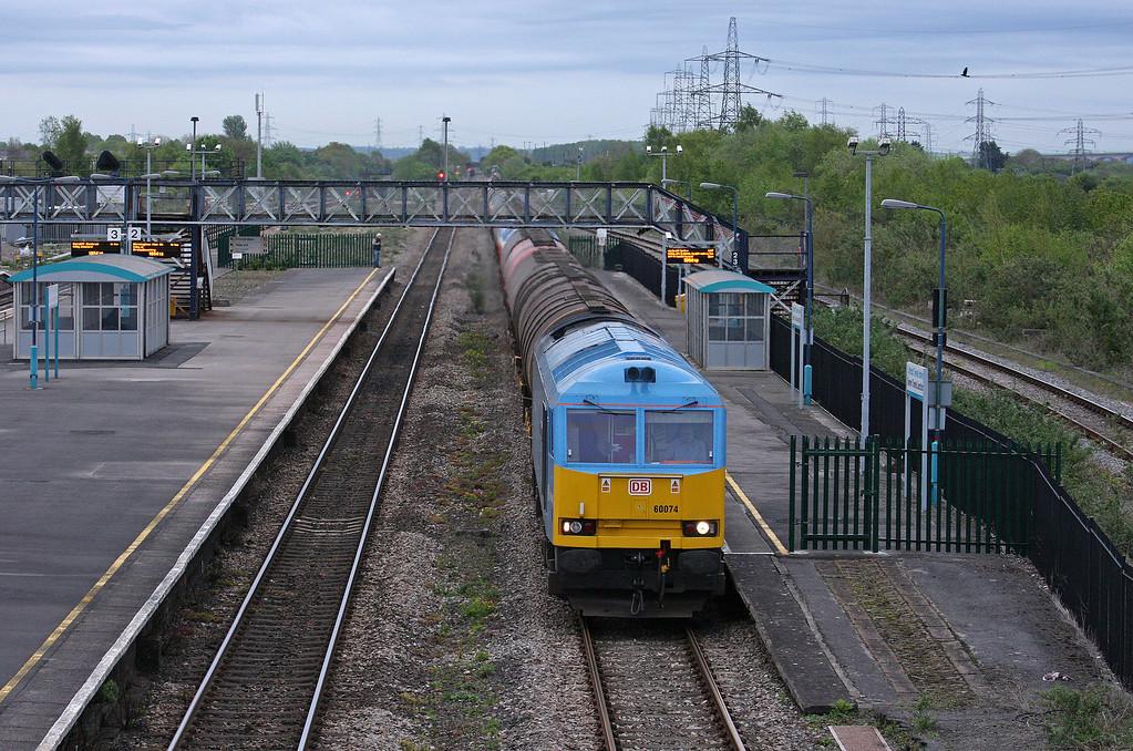 60074, 18.20 Westerleigh-Robeston, Severn Tunnel Junction, 8-5-12.