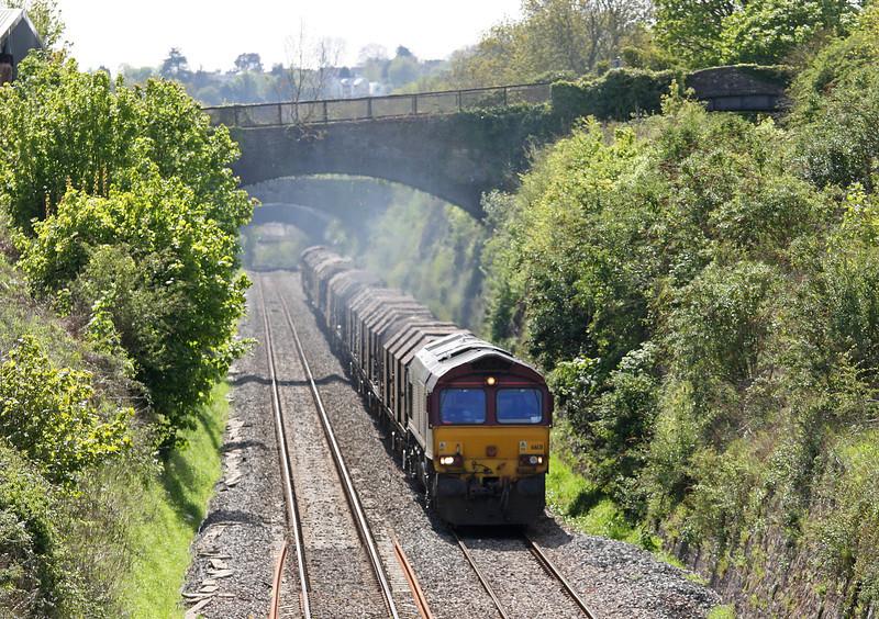 66131, 11.55 Margam-Round Oak, Sedbury Lane, Chepstow, 8-5-12.