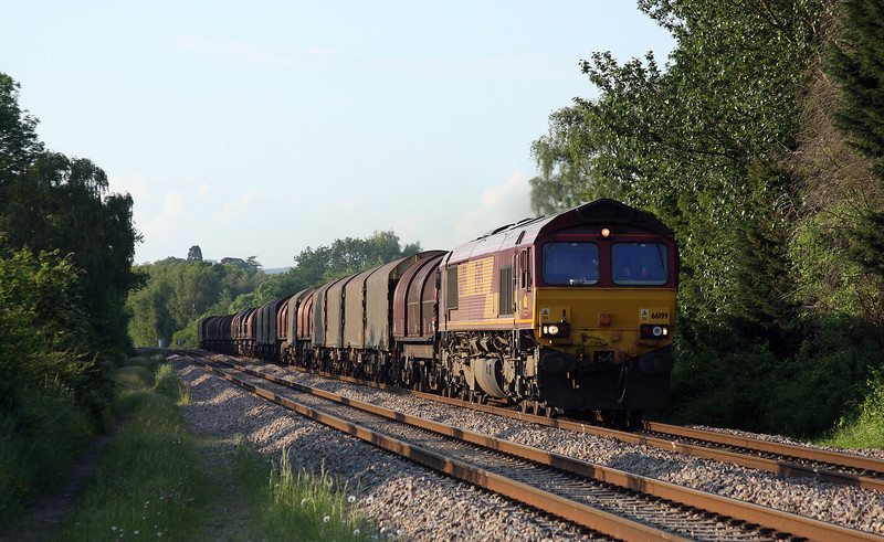 66199, 17.03 Round Oak-Margam, Bullo Pill, near Newnham, Gloucestershire, 29-5-12.