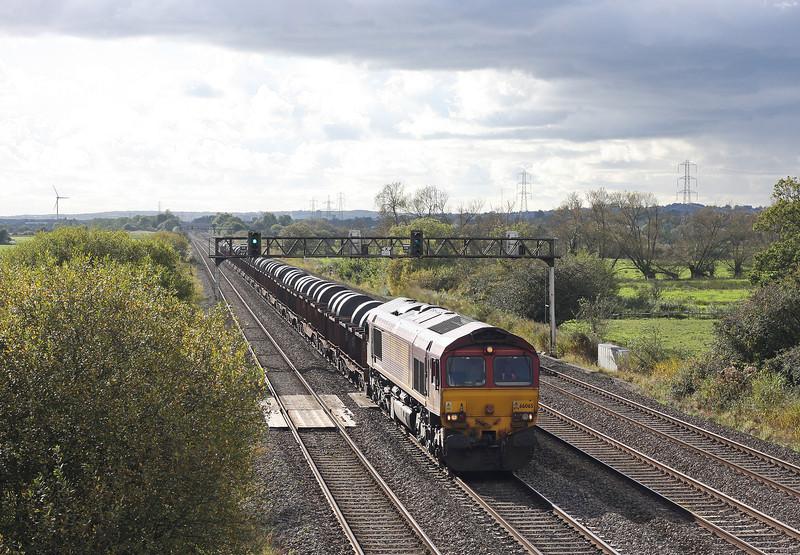 66065, 13.51 Margam-Llanwern, Coedkernow, near Newport, 13-10-12.