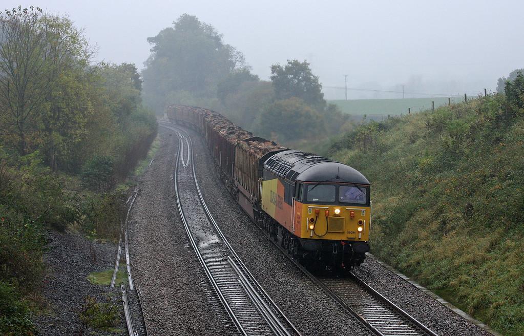 56094, 14.41 Teigngrace-Carlisle Yard, Whiteball, 25-10-12.