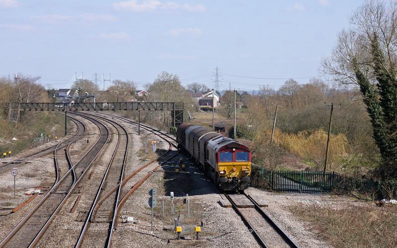 66084, 15.25 Swindon  Steel Terminal-Llanwern, Magor, 2-4-13.