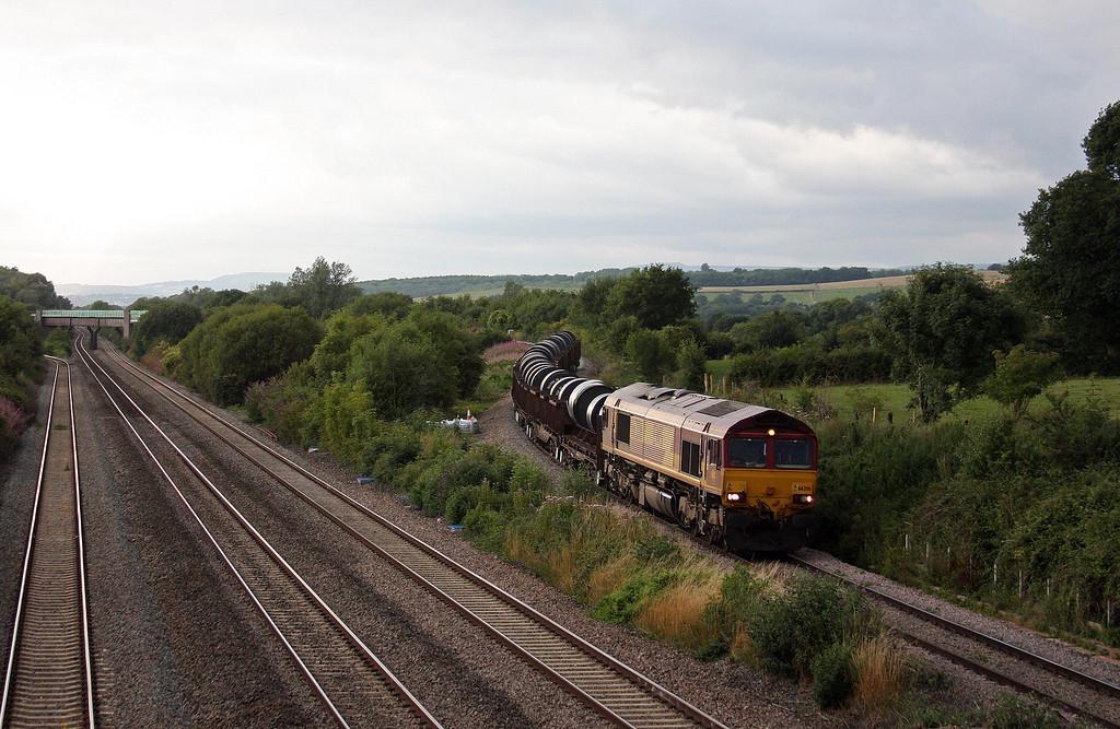 66206, 15.51 Margam-Hartlepool, Llandevenny, near Llanwern, 13-8-13.