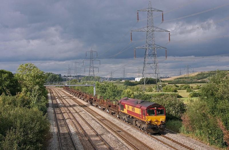 66006, 10.02 Corby-Margam, Duffryn, Newport, 13-8-13.