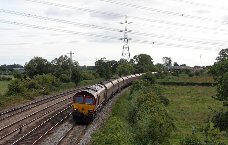 66117, 15.10 Aberthaw Power Station-Avonmouth Bulk Handling Terminal, Duffryn, Newport, 13-8-13.