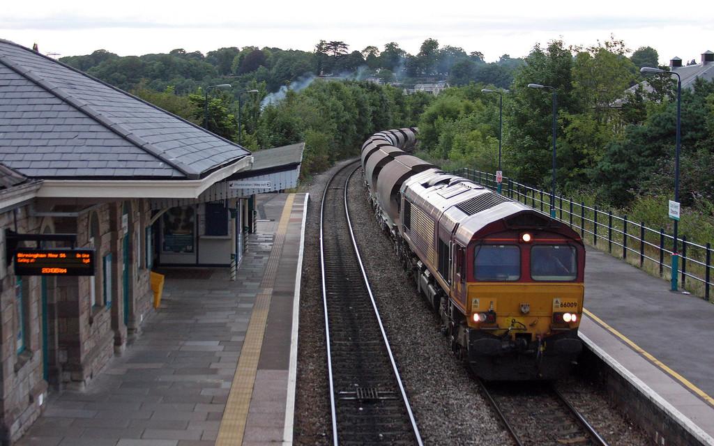 66009, 16.58 Bescot Down Side-Newport Alexandra Dock Junction Yard, Chepstow, 13-8-13.
