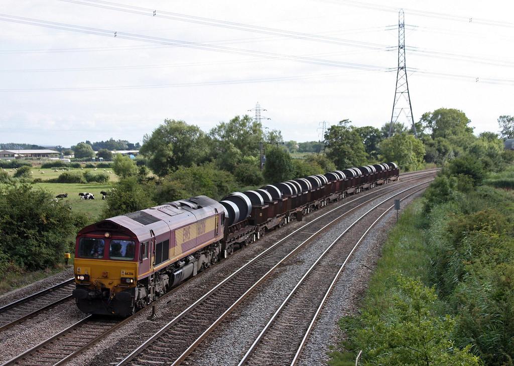 66206, 15.51 Margam-Hartlepool, Duffryn, Newport, 13-8-13.