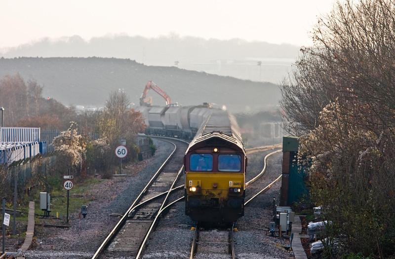 66103, 10.47 Hayes and Harlington Tarmac Sidings-Moreton-on-Lugg, Patchway, 11-12-13.