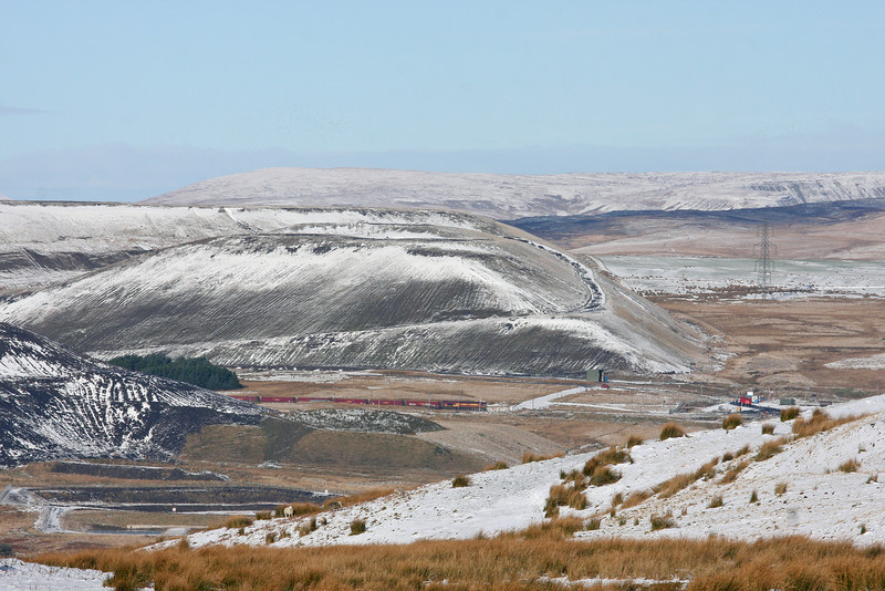 66188, 14.00 Cwmbargoed Opencast Colliery-Aberthaw Power Station, Cwmbargoed, 15-1-13.