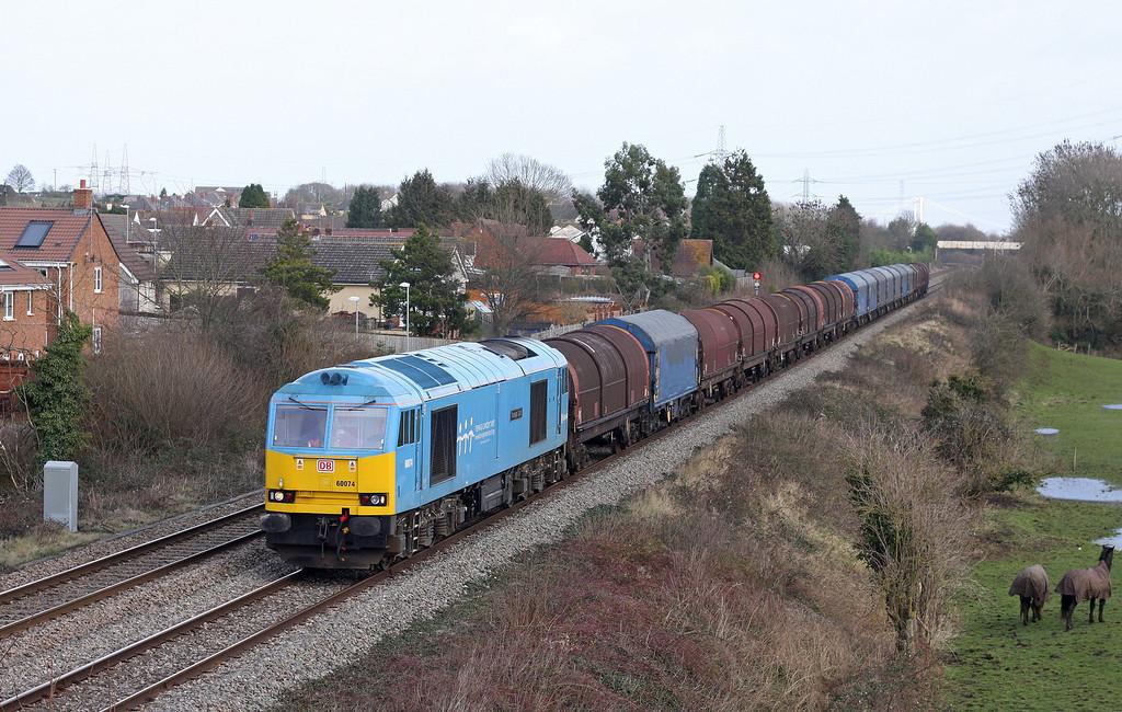 60074, 10.01 Round Oak-Margam, Portskewett, near Caldicot, 30-1-13.