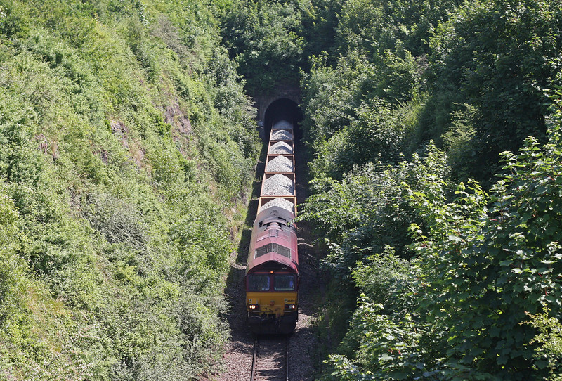 66039, 12.26 Westbury Yard-Shelwick Junction (near Hereford), Over, Bristol, 6-7-13.