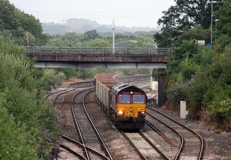 66109, 17.50 Westbury-Burngullow ECC, Tiverton Loops, Willand, near Tiverton, 28-7-13.