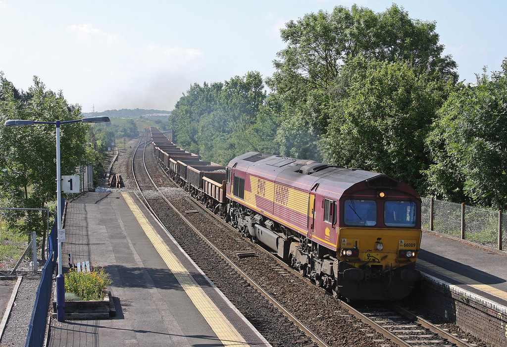 66089, 08.22 Oxford Hinksey Sidings-Shelwick Junction (near Hereford), Patchway, Bristol, 6-7-13.