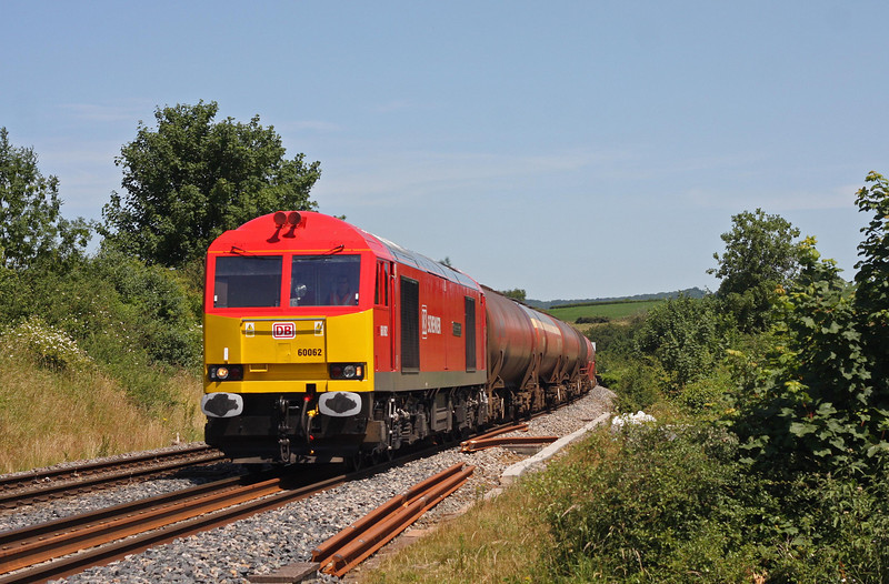 60062, 05.58 Robeston Sidings-Westerleigh Murco, Wickwar, Gloucestershire, 9-7-13.