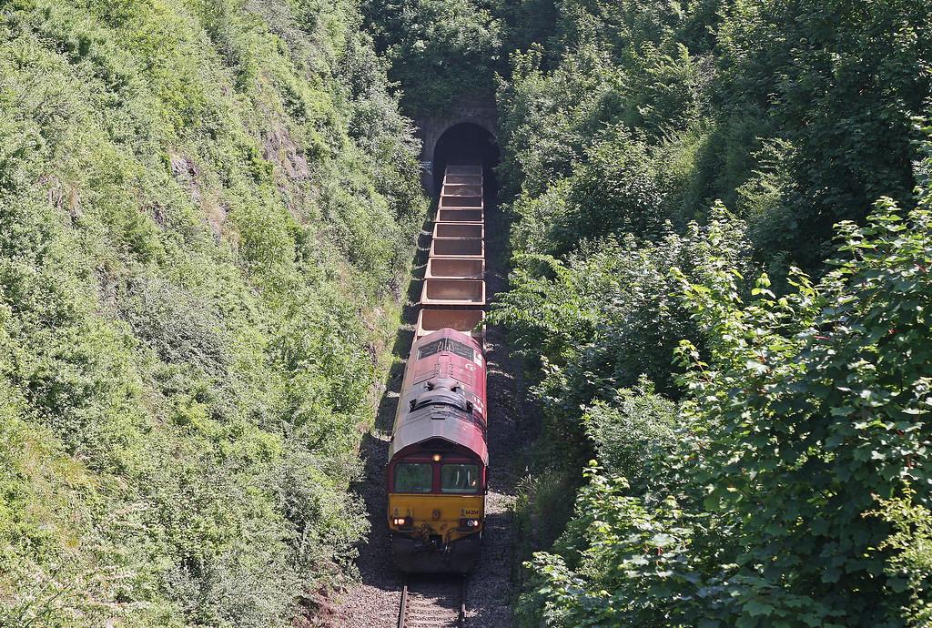 66204, 11.20 Oxford Hinksey Sidings-Shelwick Junction (near Hereford), Over, Bristol, 6-7-13.