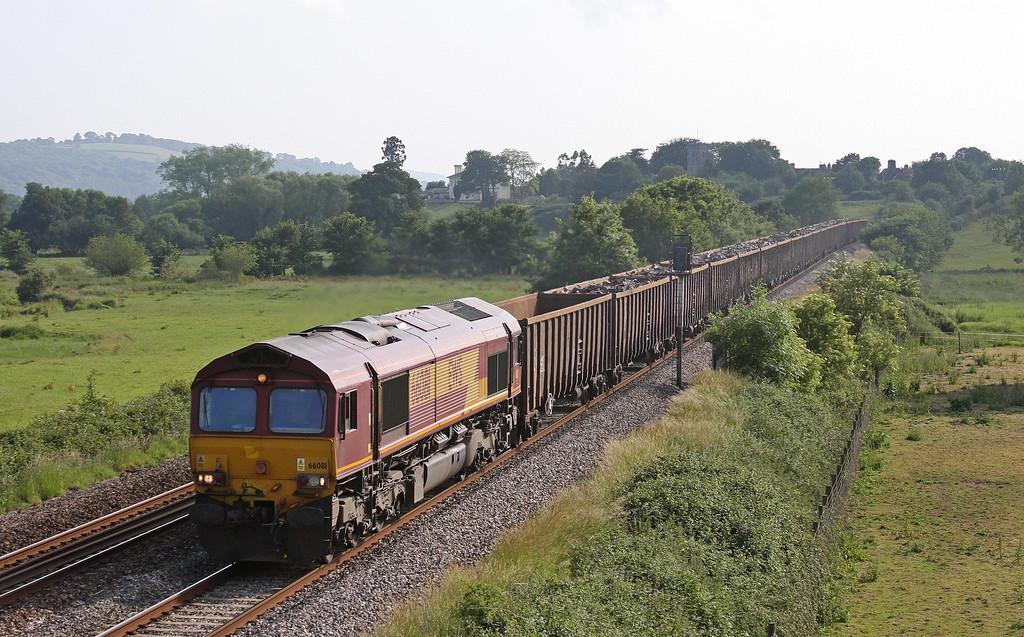 66081, 16.24 Exeter Alphington Road-Cardiff Tidal, Rewe, near Exeter, 18-6-13.
