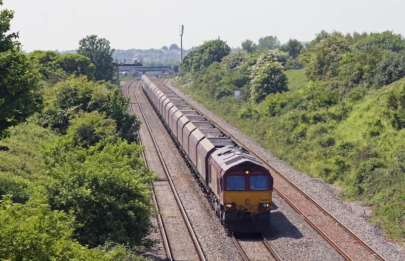 66044, 12.30 Aberthaw Power Station-Avonmouth Bulk Handling Terminal, Severn Tunnel Junction, 6-6-13.