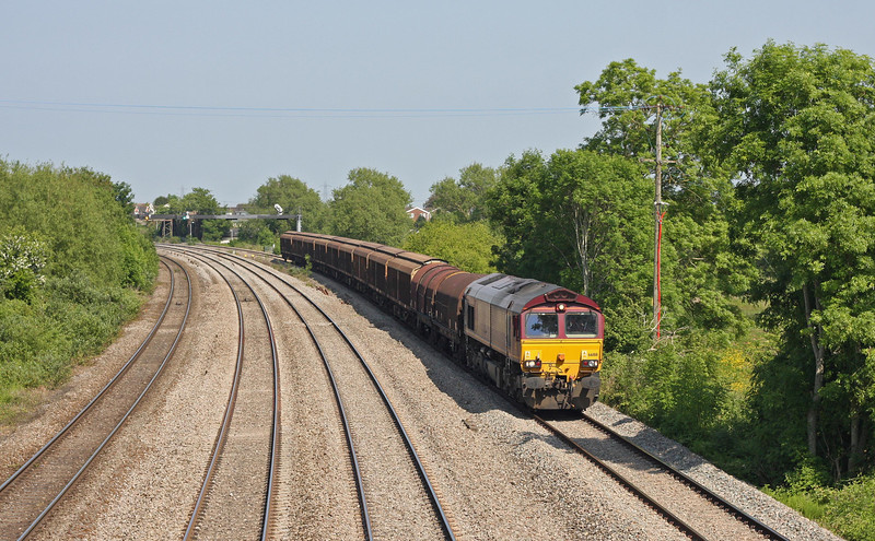 66188, 10.13 Tilbury International Rail Freight Terminal-Margam, Magor, 6-6-13.