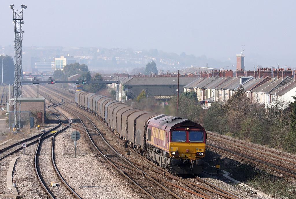66124, 10.12 Margam-Dollands Moor, Somerton, Newport, 5-3-13.