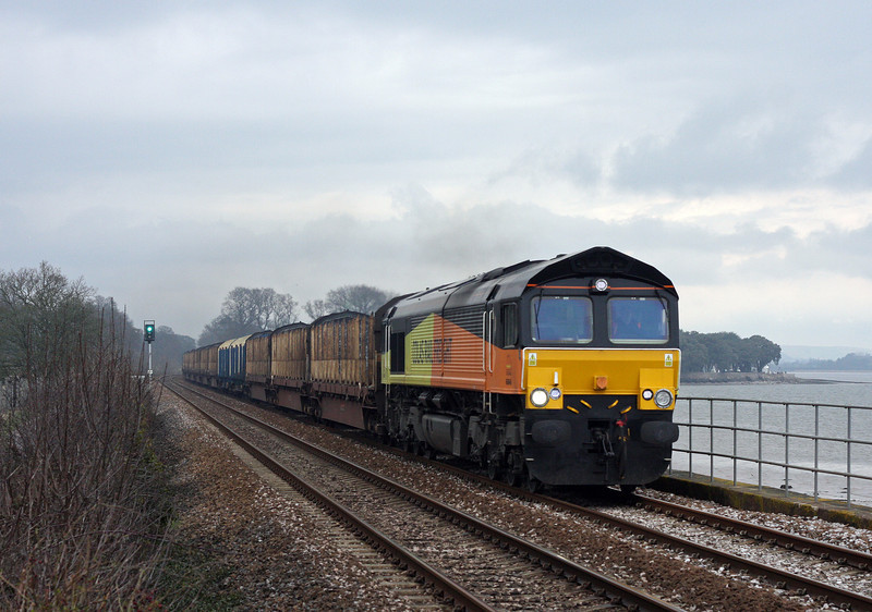 66846, 10.30 Gloucester New Yard-Teigngrace, Powderham, near Starcross, 20-3-13.