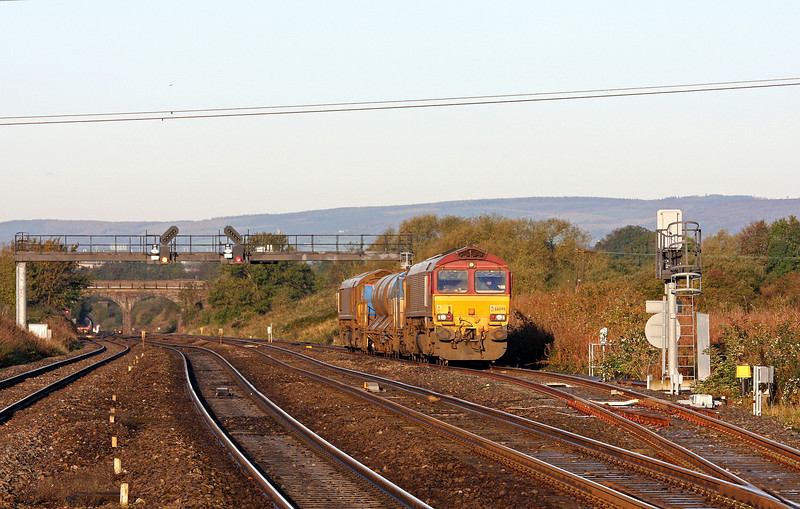 66098/66126,16.32 Bristol Barton Hill-Bristol Barton Hill, Pilning Up Loop, 4-11-13.