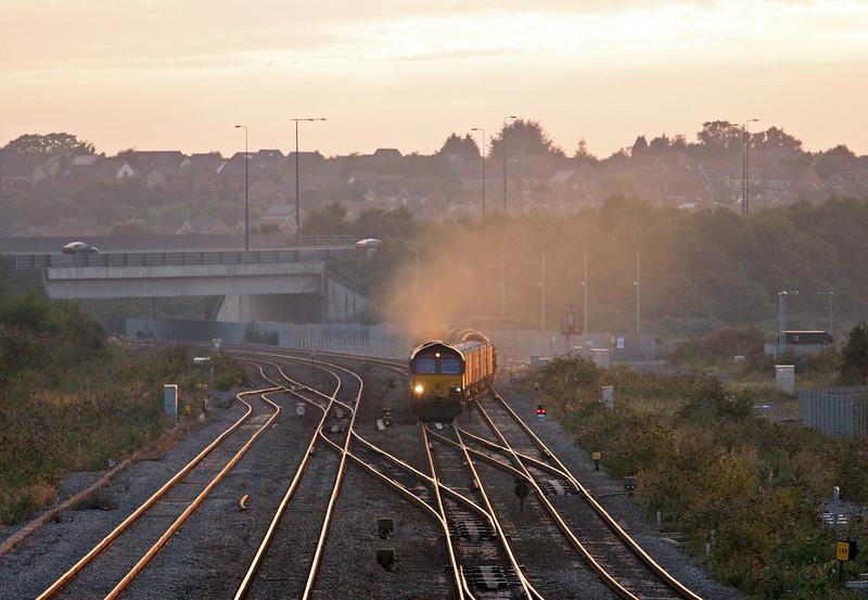66169, 17.03 Margam-Hartlepool, Severn Tunnel Junction, 4-9-13.