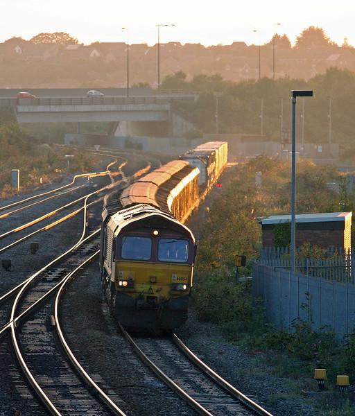 66054, 18.55 Newport Alexandra Dock Junction Yard-Didcot Yard, Severn Tunnel Junction, 4-9-13.