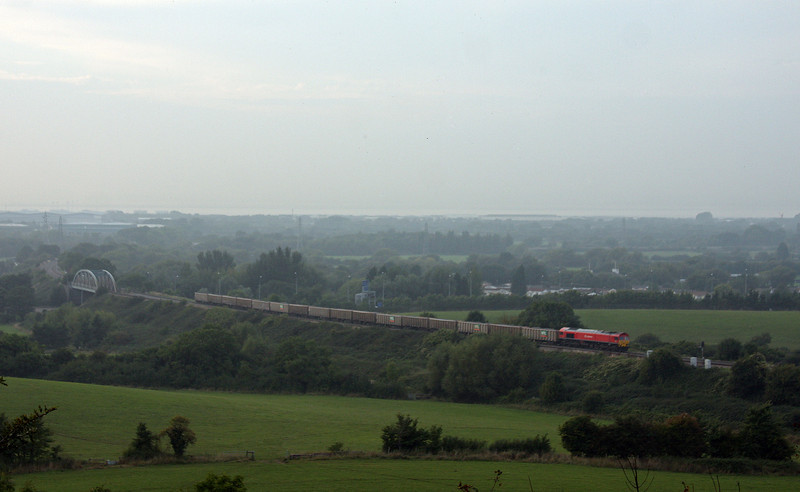 59202, 18.05 Avonmouth Bennett's Siding-Acton Yard, Hallen Marsh, 24-9-13.