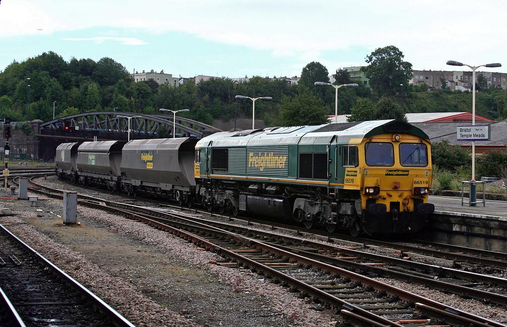 66519, 10.50 Portbury Coal Terminal-Rugeley Power Station, Bristol Temple Meads, 2-9-13.