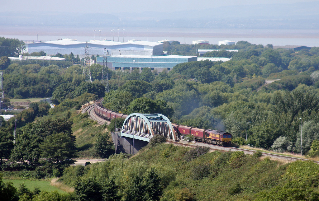 66182, 13.47 Avonmouth Bulk Handling Terminal-Ratcliffe Power Station, Hallen Marsh, Bristol, 4-9-13.